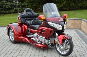 Honda Gold Wing GL1800 TRIKE CUSTOM CZERWONY (2007)
