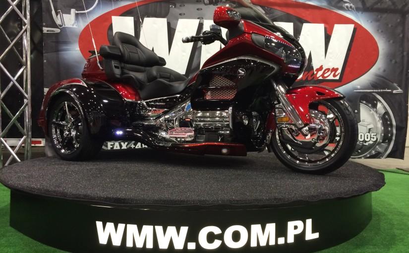 luksusowe motocykle - honda gold wing trike