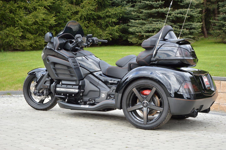 Wing Gold >> Honda Gold Wing, Honda Gold Wing Trike (trójkołowce) - WMW ...